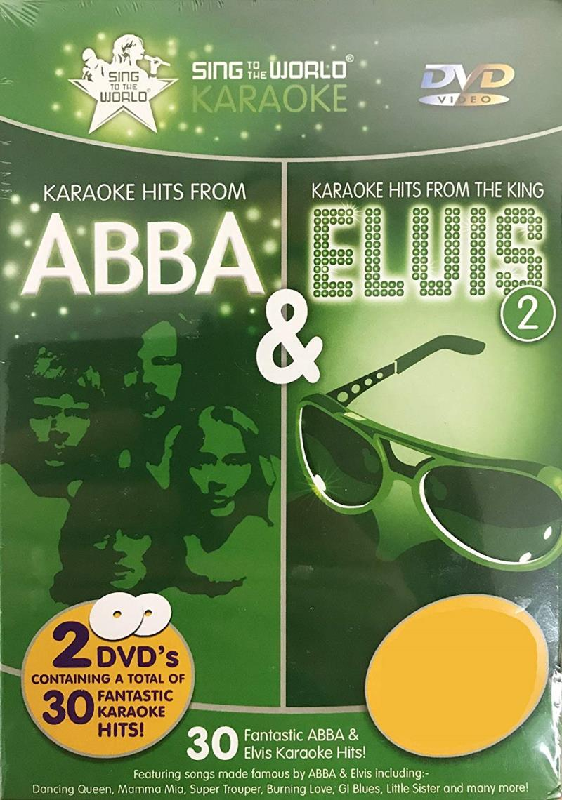 Hits from Abba & Elvis DVD