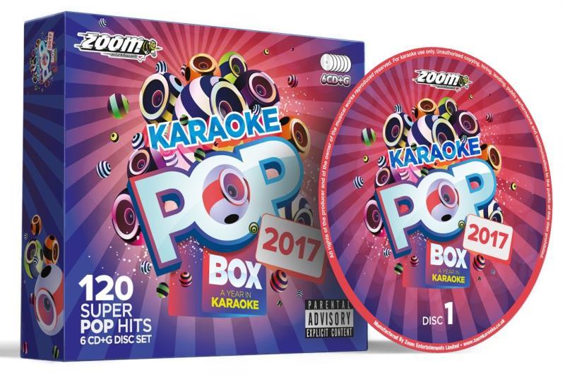Zoom Karaoke Pop Box 2017 | Sing To The World