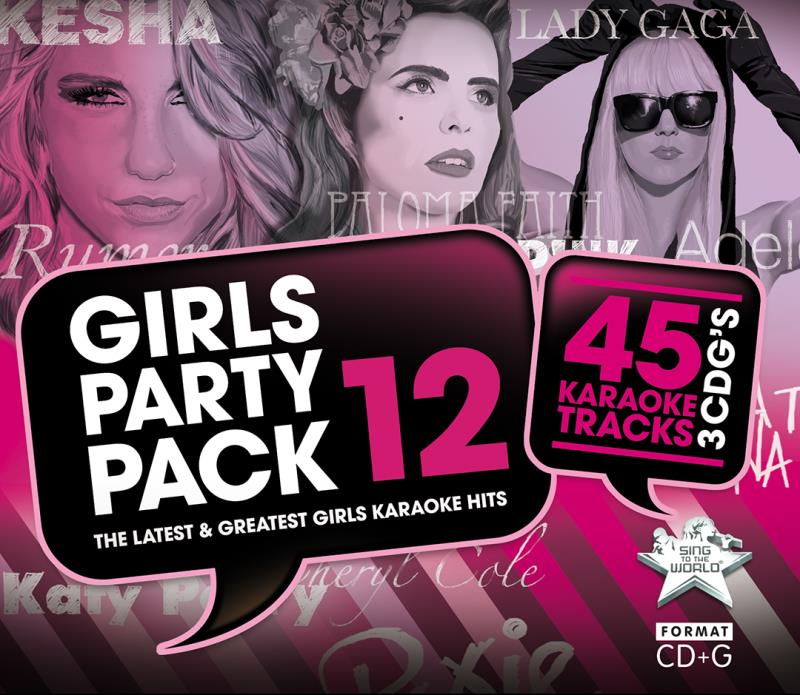 Girls Party Pack Vol 12